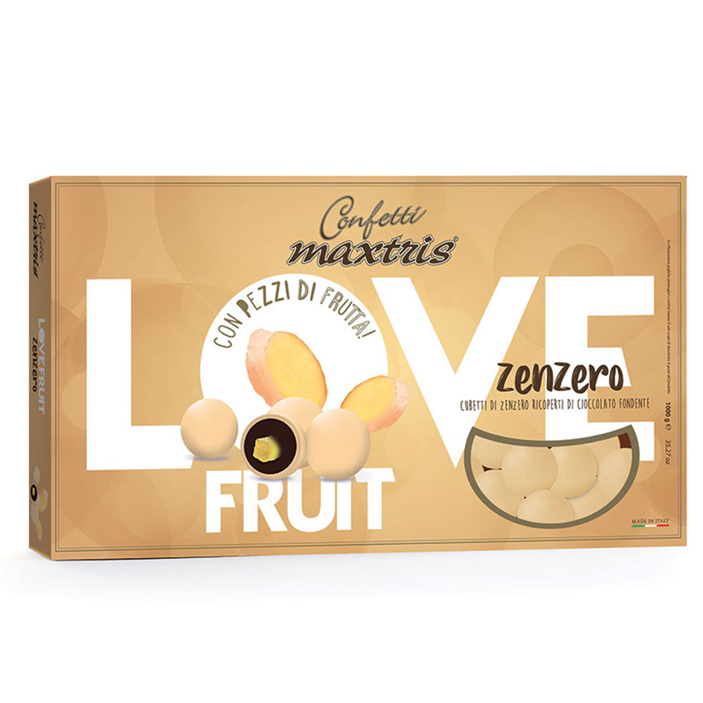 Confetti maxtris love fruit zenzero 1 kg..