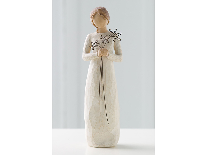 Statuetta della gratitudine willow tree mis. 22,5 cm.