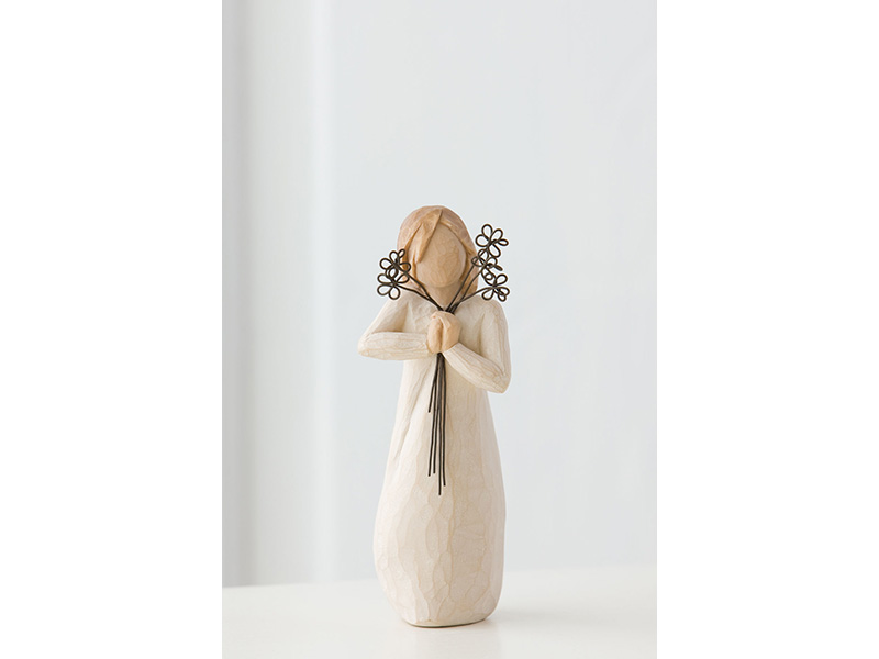 Statuetta dell'amicizia willow tree mis. 13,5 cm .