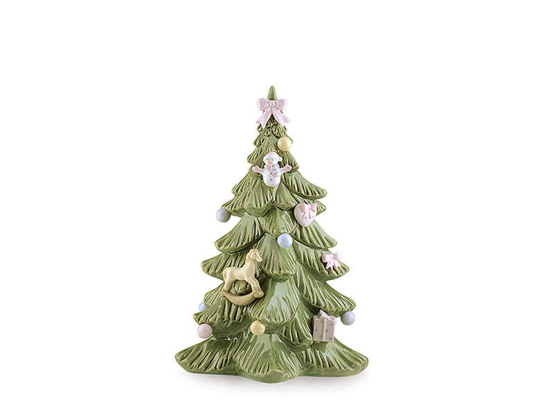 Albero di natale in porcellana royal class by hervit 18cm..