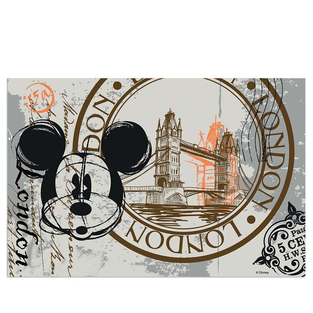 Tovaglietta egan walt disney mickey in the city londra mis. 45x30 cm..