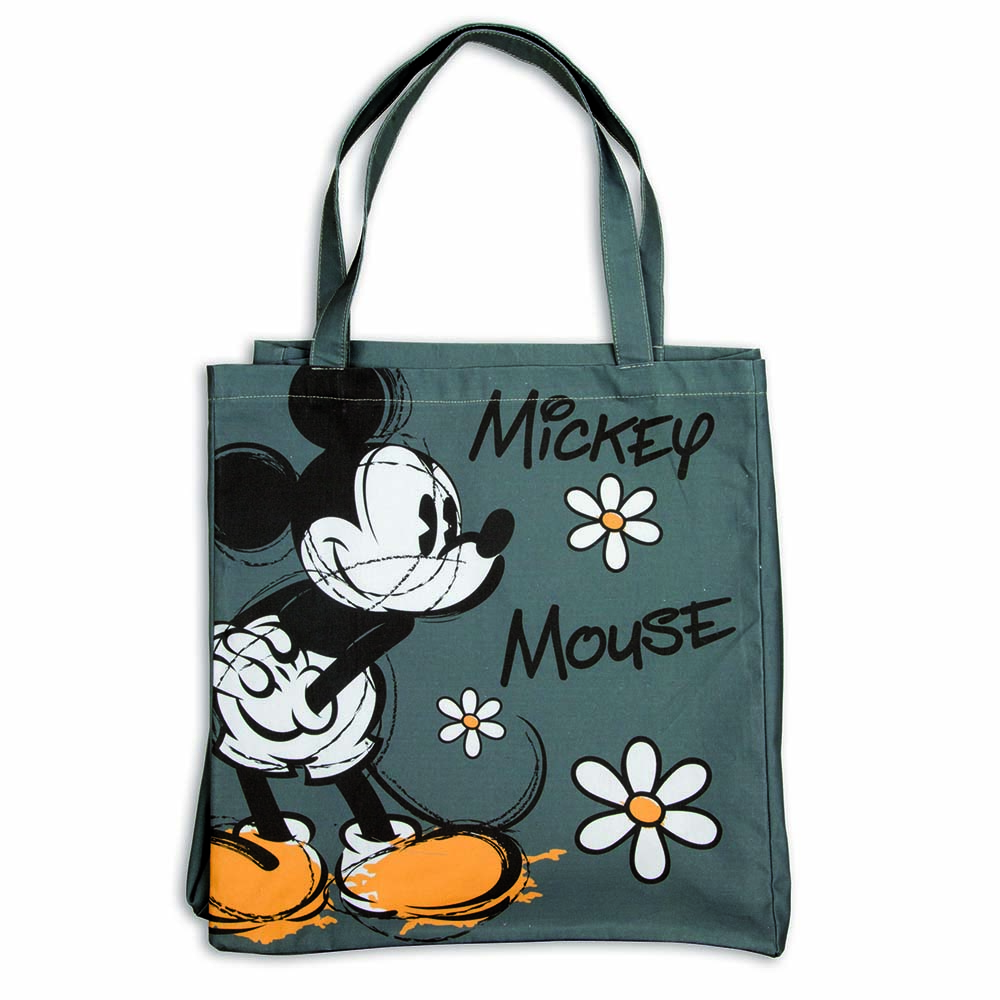 Shopper bag con mickey mouse e minnie egan walt disney mis. 38x41.