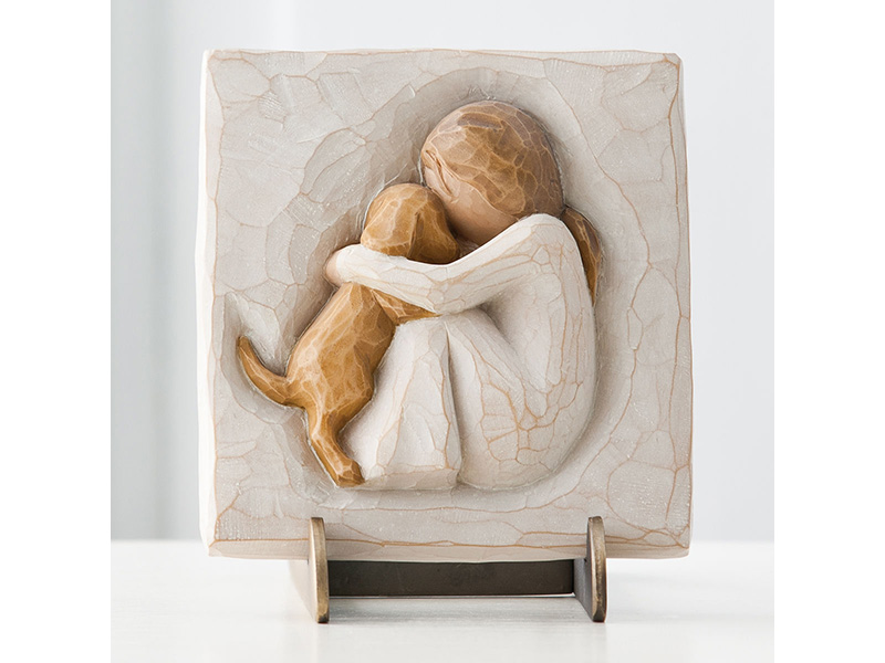 Placca vero willow tree mis. 10x13 cm.