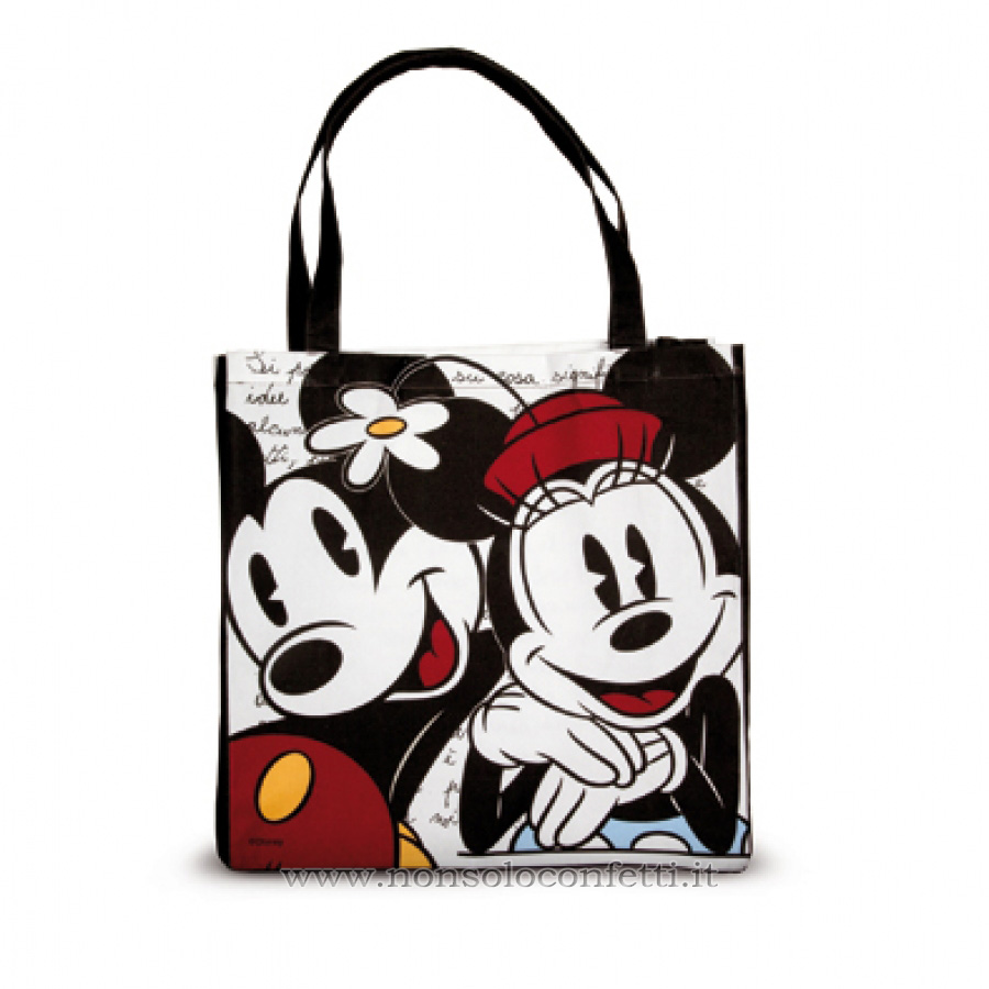 Shopper Bag Mickey Mouse e Minnie Egan