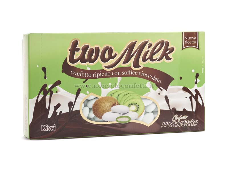 Confetti maxtris two milk gusto kiwi 1 kg..